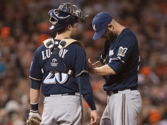 Jonathan Lucroy finished fourth in the NL MVP voting.