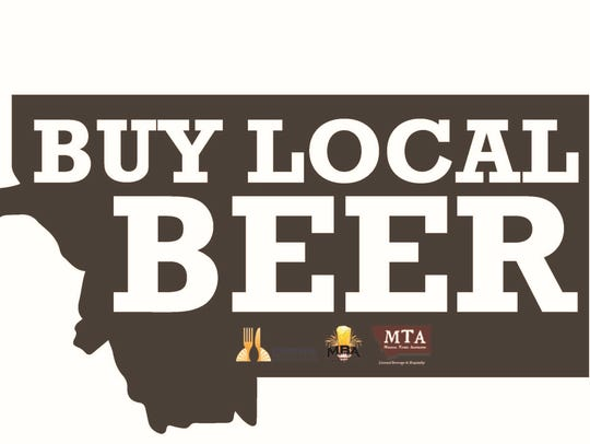 A new logo for a buy local beer campaign