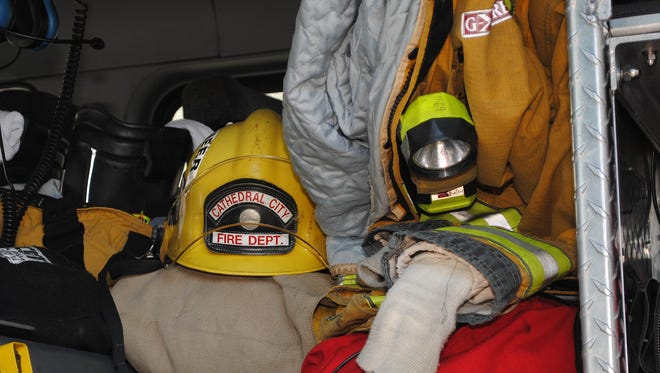 Cathedral City Fire Department firefighters and dispatchers will head to San Diego this weekend, to participate in a 9/11 memorial stair climb and raise money for a charity that aids wounded firefighters.