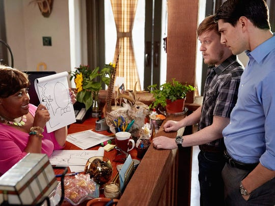 Sherri Shepherd as Anne, Steven Boyer as Dwayne and
