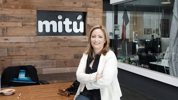 Beatriz Acevedo, the co-founder of mitu, an online