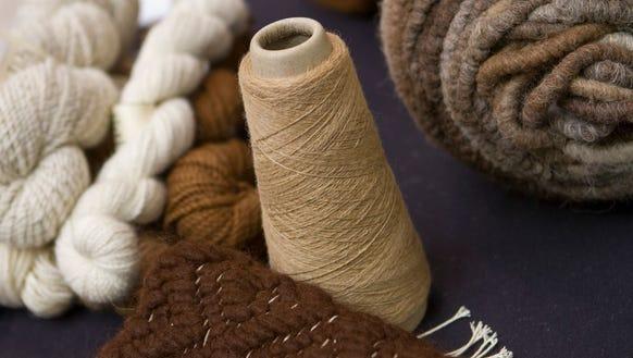 There will be plenty of alpaca yarn at the new Fiber
