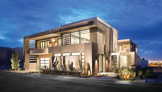 This year's New American Home, located in Las Vegas, features the latest in smart technology.