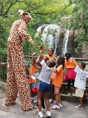 Macy's Kids, Cultures, Critters & Crafts Festival at Cincinnati Zoo & Botanical Garden.