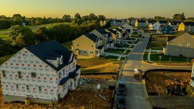 About 83% of all housing units built in metro Augusta last year were single-family homes, compared to the national average of 62.2%, according to real estate firm Porch.com.