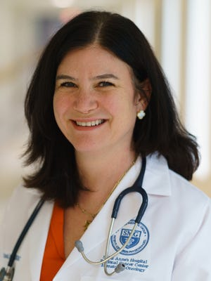 Tina Rizack, MD, is a medical oncologist at Saint Anne's Hospital.