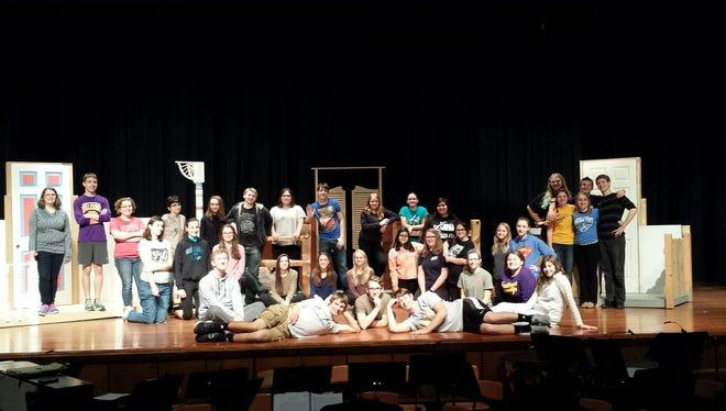 "The Sheboygan County Christian High School Drama Department will present the award-winning off-Broadway hit ""OPAL"" Nov. 5-7."