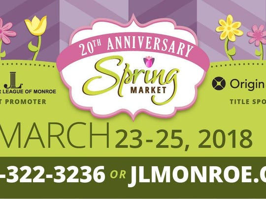 The Junior League Spring Market is this weekend.