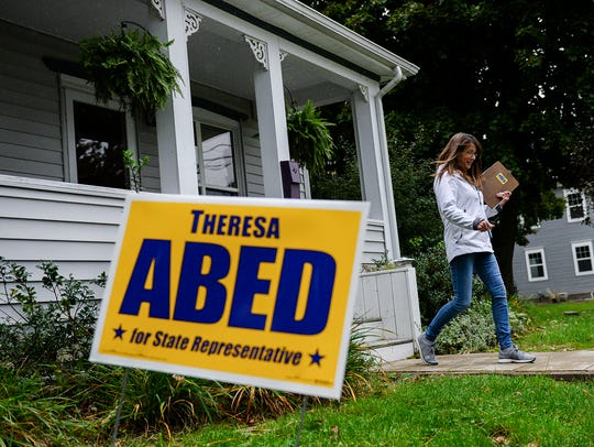 Theresa Abed, Democratic candidate for state representative,