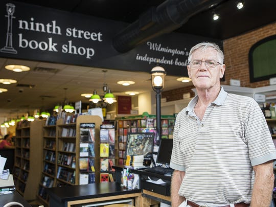 Jack Buckley owns the Ninth Street Book Shop on Market Street in Wilmington. His store is open Saturdays, but not Sundays.
