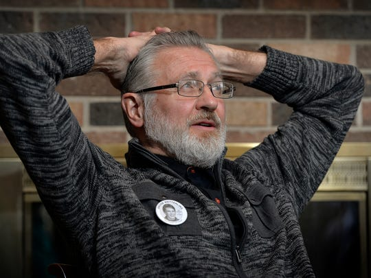 Jerry Wetterling ponders some of the recent developments in the case of the 1989 abduction of Jerry and Patty Wetterling's son, Jacob, as he talks during an interview Wednesday, Dec. 9 at his St. Joseph home.