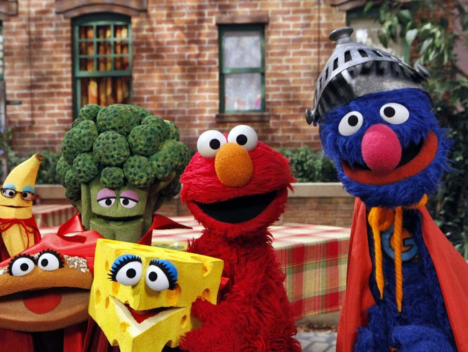 This June 22, 2010 file photo released by Sesame Workshop,
