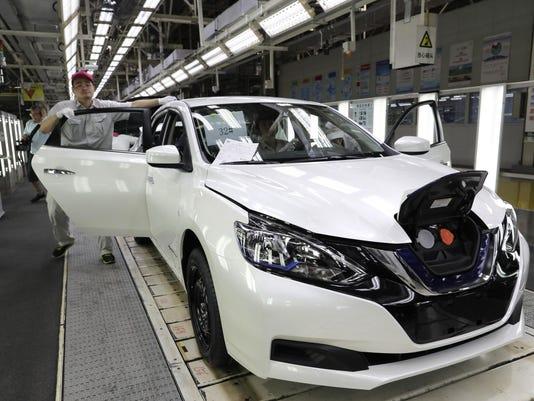 China Nissan Electric Car