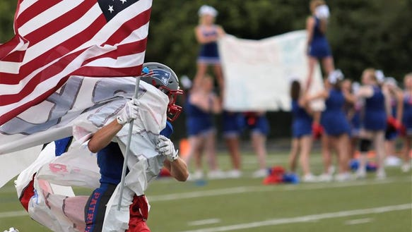 The Madison Patriots will burst through the banner