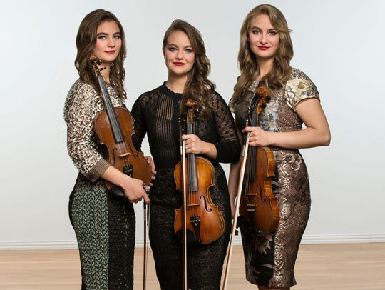 The Quebe Sisters will bring their fiddling sound to