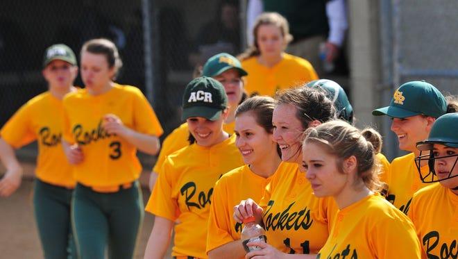 The Reynolds softball team.