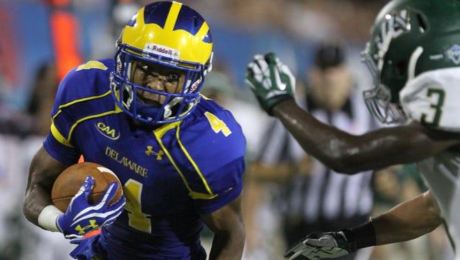University of Delaware former wide receiver Jerel Harrison in 2015.