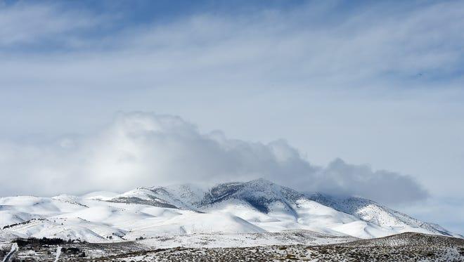 Peavine peak Jan. 20, 2017.