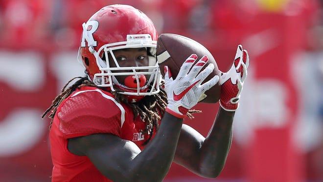 Rutgers wide receiver Janarion Grant.