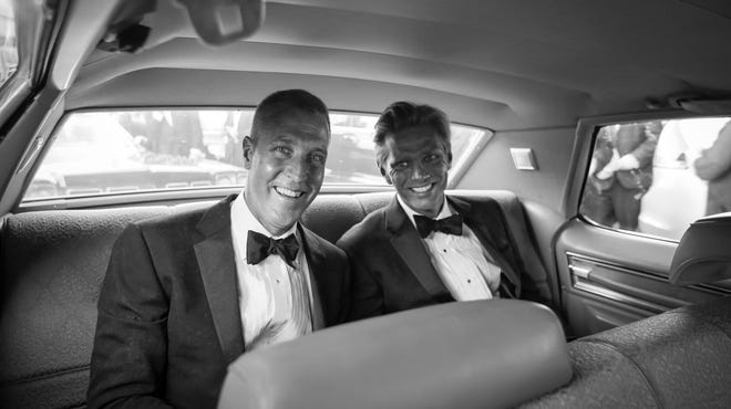 Newlyweds U.S. Rep. Sean Patrick Maloney, D-Cold Spring, and Randy Florke depart June 21 from the Church of St. Mary-in-the-Highlands in Cold Spring.