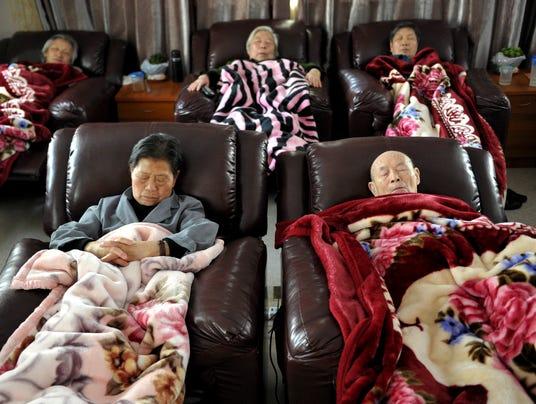 China seniors