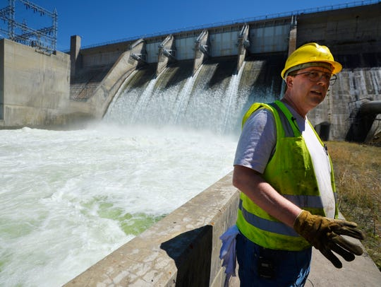 Jeff Lord a mechanic at Canyon Ferry Dam talks about