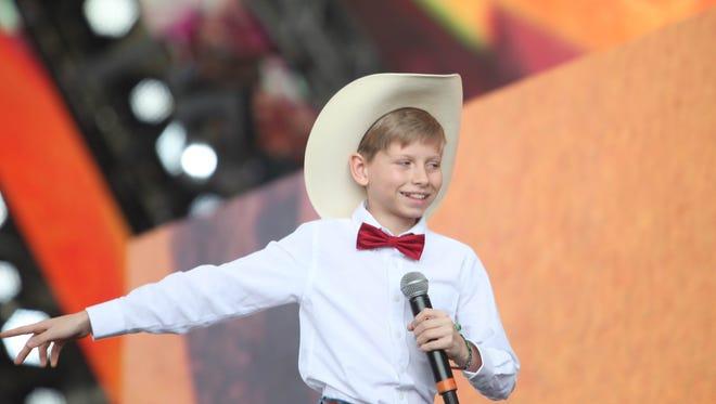The Walmart Yodel Kid hit Coachella on Friday.