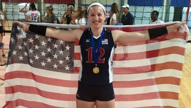 Lily Johnson helped Team USA to a four-set victory over China in the European Global Challenge finals last year in Pula, Croatia.