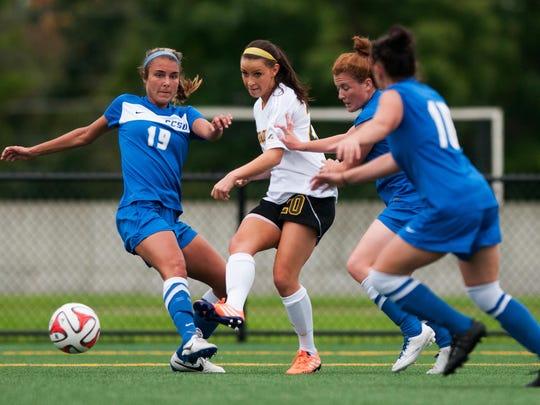 Central Connecticut vs. Vermont Women's Soccer 08/22/14