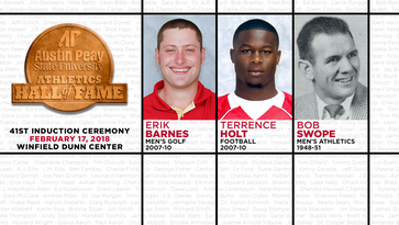 Three Austin Peay athletes selected for school's Hall of Fame