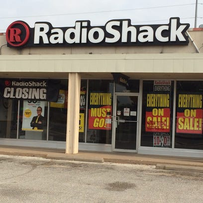 RadioShack on North First Street is closing.