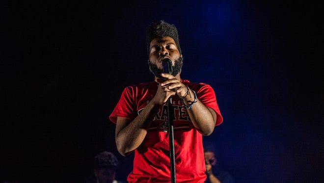 Rising R&B singer Khalid headlines the Rave's Eagles Ballroom Wednesday.