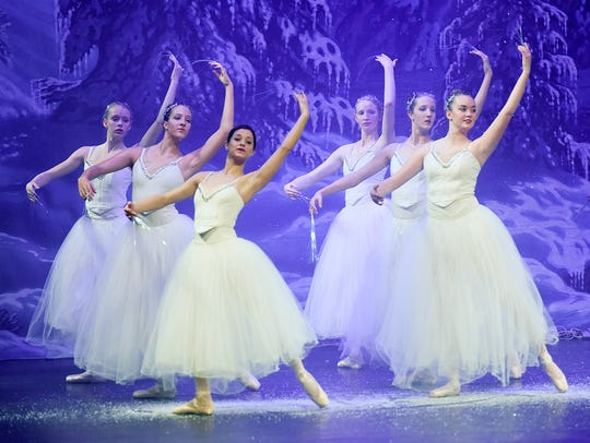 """Dancers perform in the Stroia Ballet Company's production of """"The Nutcracker"""" Nov. 17, 2016 at the Paramount Theatre in St. Cloud."""