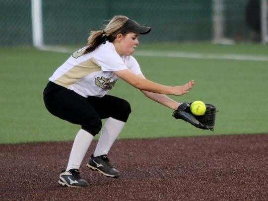 Archer City second baseman Vanessa Rater has a special bond with her sister Victoria on the softball diamond that only twins can understand.