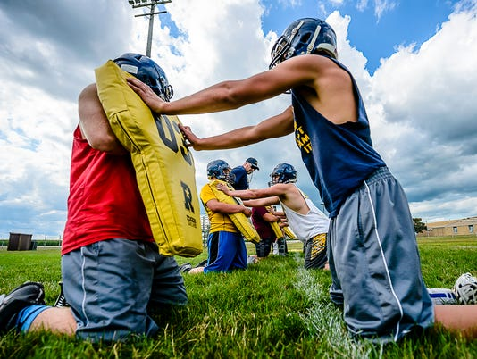P-W Football Practice-Day 1