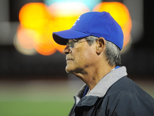 """""""I think one of the keys is that if you can teach a young man the power of positive thinking, you can give him a key to life, that he can wake up every morning and have an attitude that life is going to be what he makes it,"""" says Tom Mach, who retired as Detroit Catholic Central coach in 2016 with 370 wins and 10 state titles."""