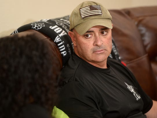 David Montoya, a retired master sergeant with the New