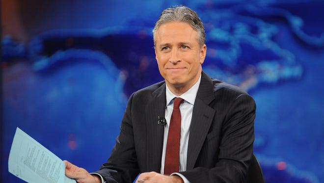 Jon Stewart on 'The Daily Show' in 2011.