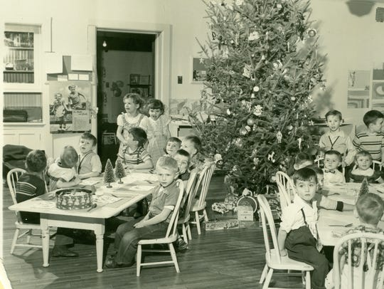 Christmas in the Nursery School, a favorite project