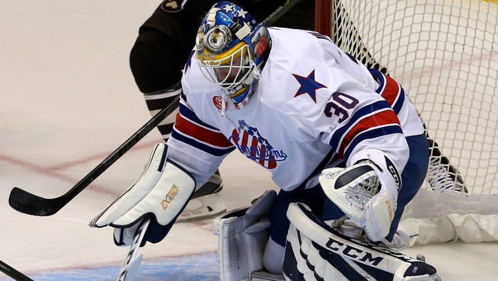 With Lehner ill, Sabres recall Ullmark from Amerks