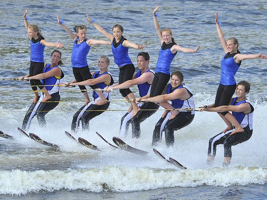 The Wisconsin Rapids Aqua Skiers host the annual Wisconsin State WaterSki Show Championships each July on Lake Wazeecha.
