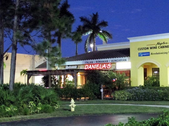 After a successful eight-year run, Daniela's Restaurant is closing Nov. 11 at 13500 U.S. 41 N. in North Naples.