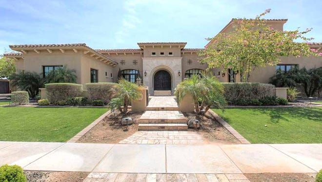 James and Jennifer Rizzo bought a five-bedroom, 2010 house at Fulton Ranch in Chandler. The 7,739-square-foot, $2.6 million house features a lap pool, two outdoor kitchens, a six-car cooled and heated garage and a steam shower.