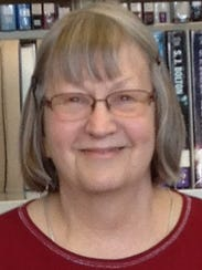 Judy, a volunteer at Manitowoc Public Library.