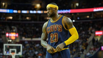LeBron James did not play in the Cavaliers' loss to the Pacers on Friday.