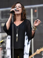 Martina McBride, pictured in 2016, performs 8 p.m. Wednesday at Mayo Performing Arts Center, 100 South St., Morristown, $59 to $109, www.mayoarts.org.