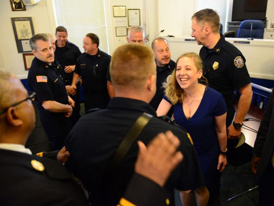 Teaneck's First Female Firefighter