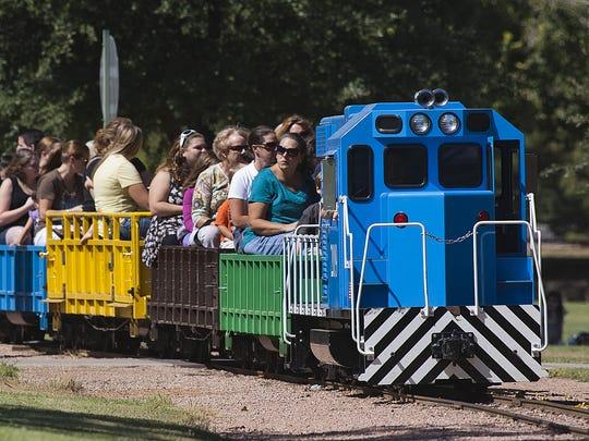 McCormick-Stillman Railroad Park in Scottsdale offers