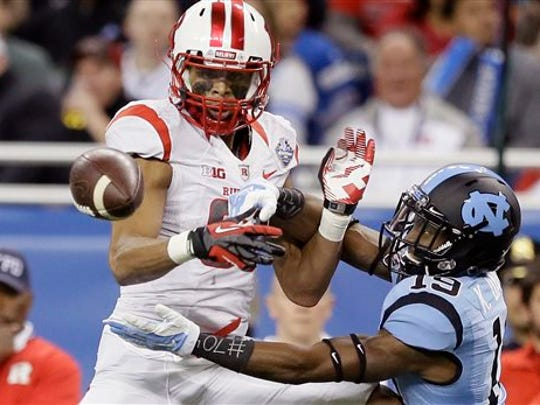 Former Rutgers wide receiver Andre Patton out of St. Elizabeth High.