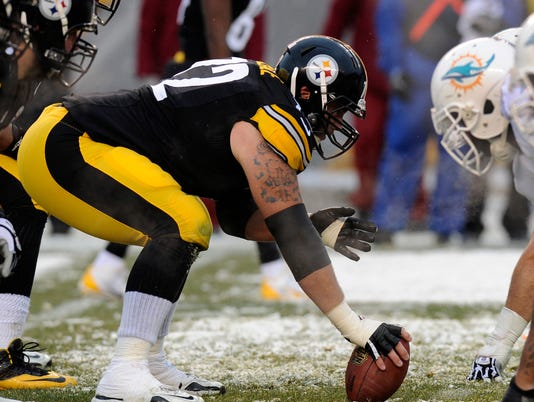 Steelers' Cody Wallace fined for grabbing Dolphins DT's privates